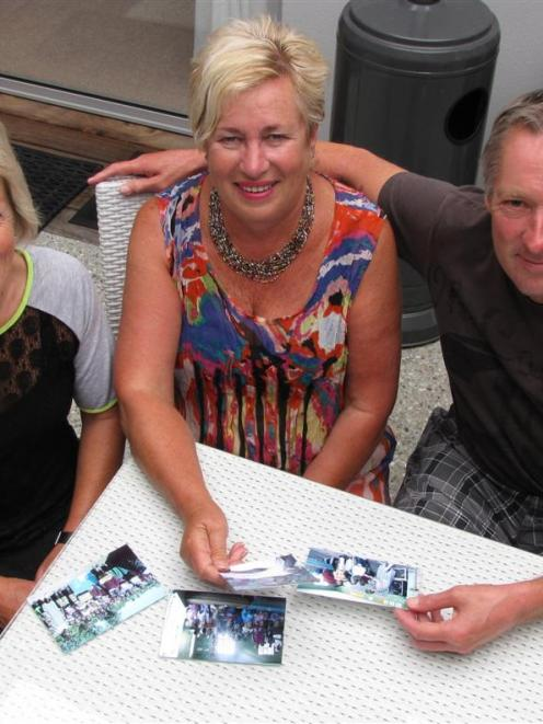 Arusha Orphans' Charitable Trust sponsors Jan (left) and Ross Parry, and founder Pauline Hope,...