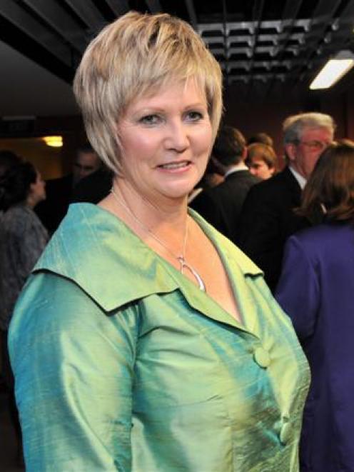 Aspiring director award recipient Dawn Sangster at the awards function this week. Photo by Jane...