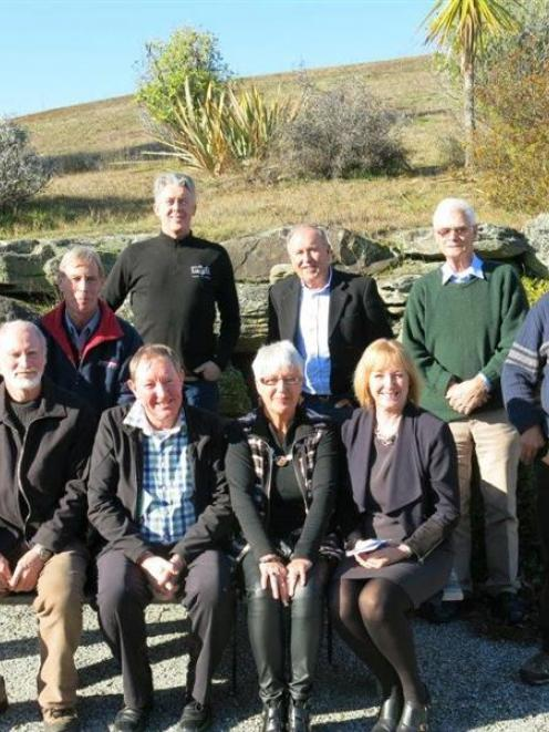Assembled at a Guardians of Lake Wanaka meeting at the Wanaka Doc office this week are (back from...