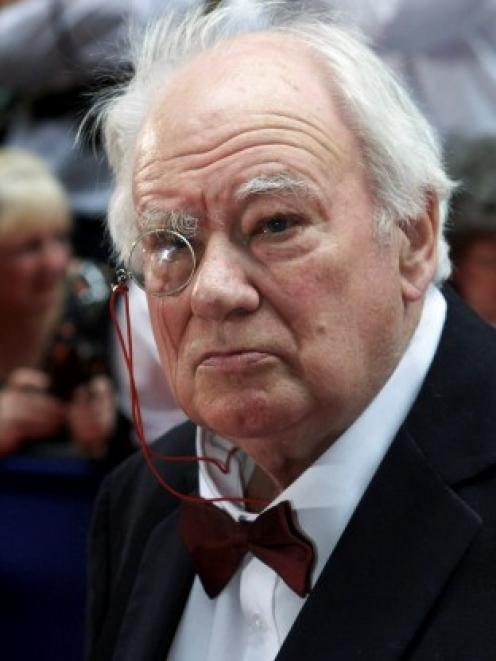 Astronomer Patrick Moore arrives for the British Academy television awards at the Grosvenor House...