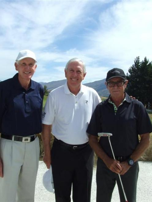 At The Hills, near Arrowtown, on Monday, preparing for the New Zealand PGA Championship were ...