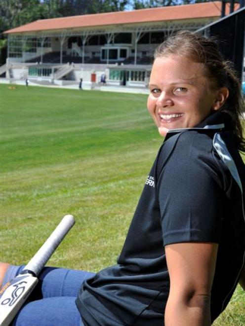 New White Ferns captain Suzie Bates reflects on her decision to make cricket her priority. Photo...