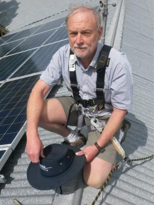 Atmospheric scientist Ben Liley thinks solar panels should power everything from research...