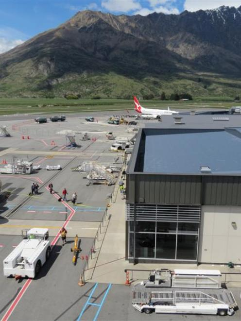 Auckland International Airport's financial result highlighted Queenstown Airport (pictured) had...