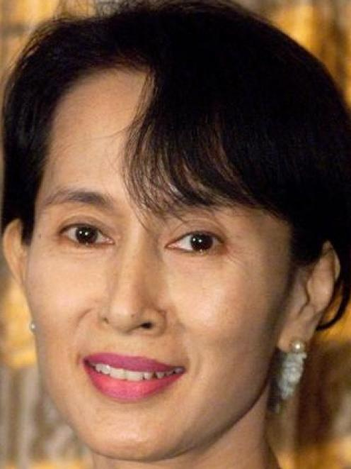 Aung San Suu Kyi. Photo from Reuters.