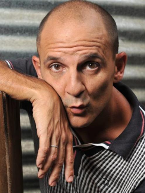 Australian comic Carl Barron will discuss the absurdities of life in the Queenstown Memorial...