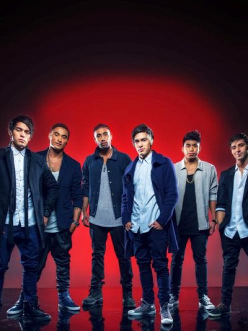 Australian dance and pop group Justice Crew, which will perform live from Queenstown next Friday...