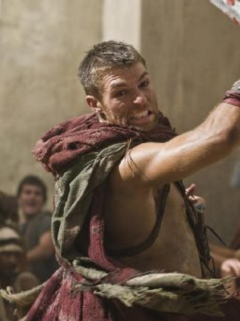 Australian Liam McIntyre fills the sandals of the late Andy Whitfield in Spartacus: Vengeance,...