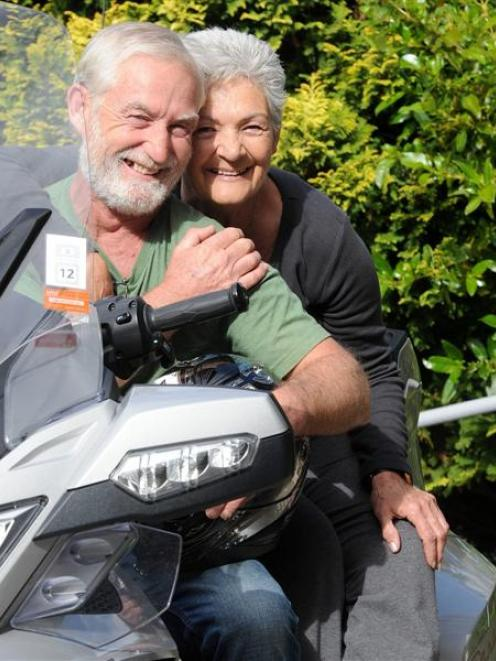 Australian tourist Kay Henry and husband Jack had their motorcycle tour of the deep south stalled...