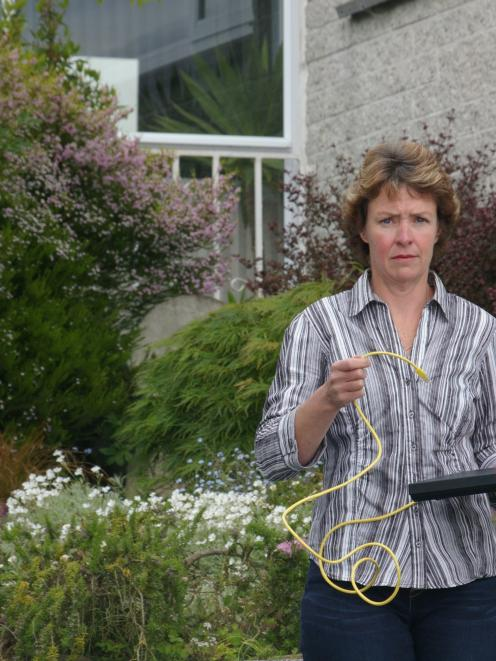 Balclutha parent Julia Hunter believes Wi-Fi should be banned in New Zealand classrooms. Photo by...