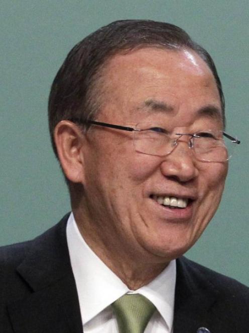 Ban-Ki Moon. Photo by Reuters