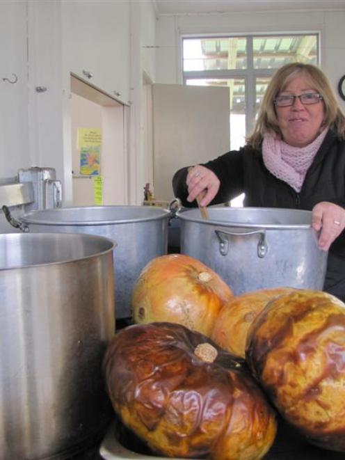 Bannockburn Community Centre management committee  chairwoman Kerry Stainton-Herbert makes ...
