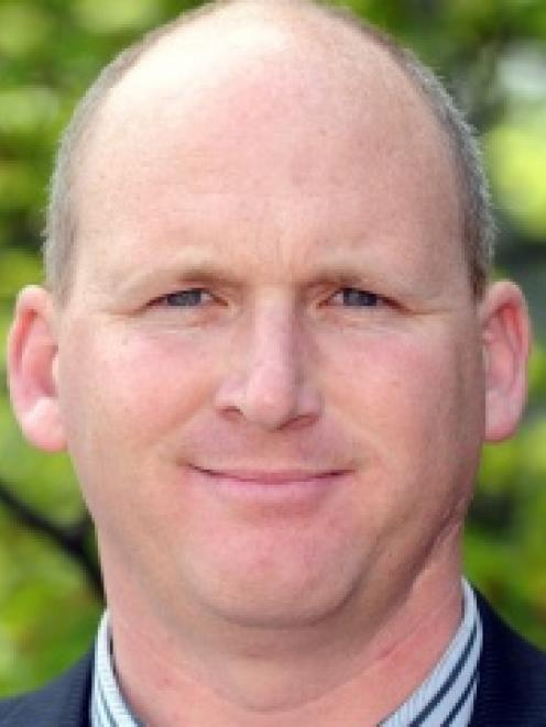 Basketball Otago board member Simon Clarke.