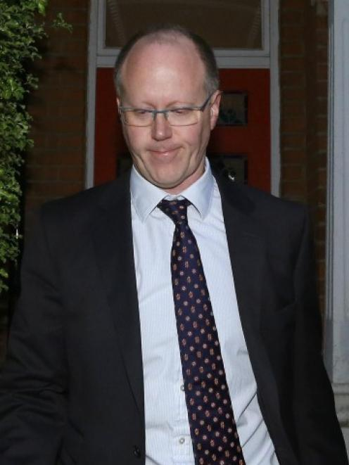 BBC director-general George Entwistle, seen leaving his home in south London, has admitted that...