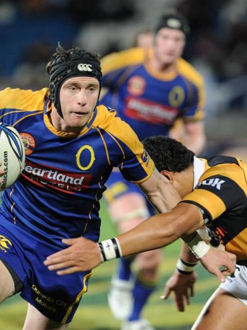 Ben Smith, pictured playing for Otago against Taranaki at Carisbrook last week, will make his...