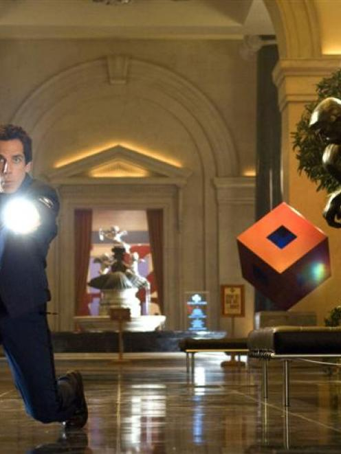 Ben Stiller is Larry Daley in Night at The Museum 2.