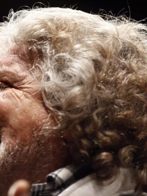 Beppe Grillo. Photo by Reuters
