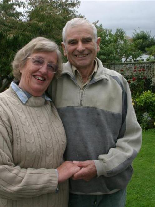 Vindicated . . . Relief at last for Margaret and Keith Berryman, of Wanganui, who have been...
