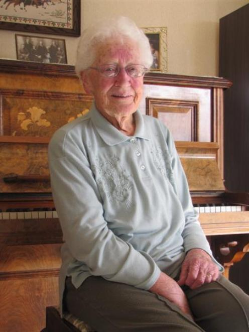 """Bettie Lawson is stepping down after being the """"backbone"""" of Roxburgh music for half a century...."""