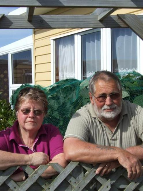 Bev and Dave Jordan (top), of the Waitaki Kaik Fishing Reserve, say the camp's possible 868% rate...