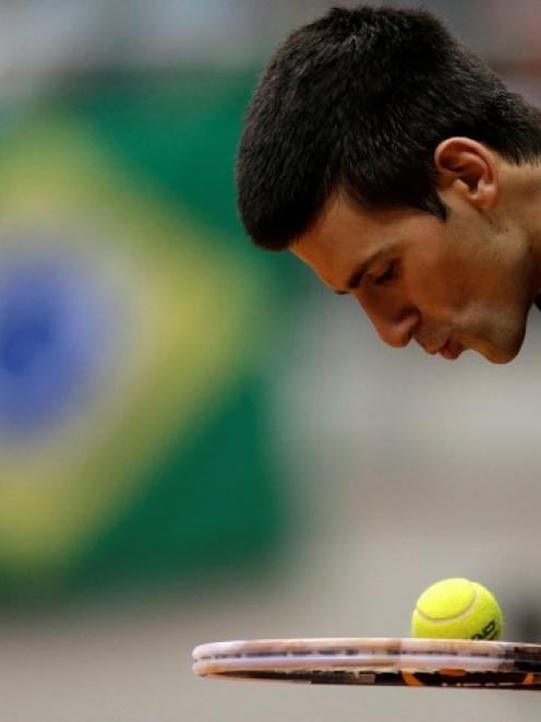 Big cheese . . . World tennis No 1 Novak Djokovic has reportedly bought the world's entire supply...