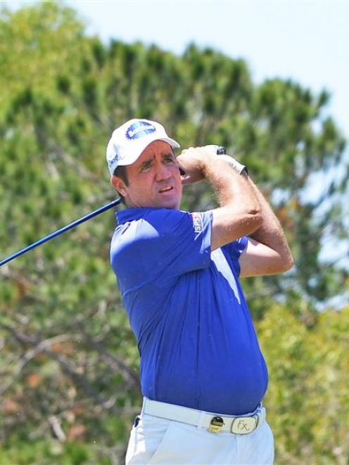 Big-hitting Scott Hend will join the field at the 2014 New Zealand Open near Arrowtown. Photo by...