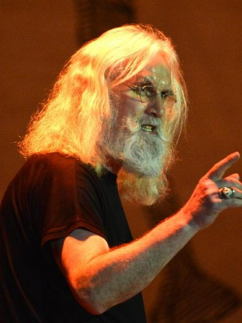 Billy Connolly's show is like hearing St Paul sharing the naughty stories he heard at the Pearly...