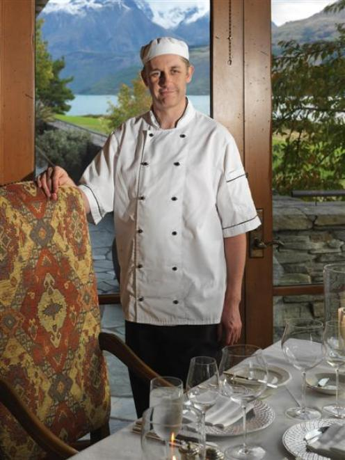 Blanket Bay executive chef Corey Hume. Photo by Ted Creely.