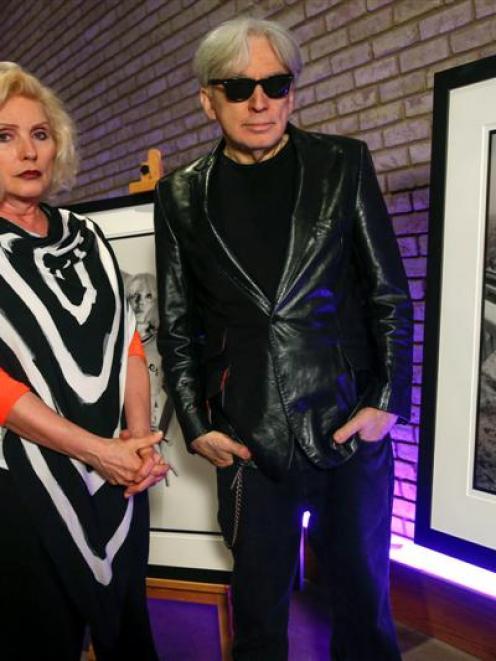 Blondie's Deborah Harry and guitarist Chris Stein. REUTERS/Shannon Stapleton