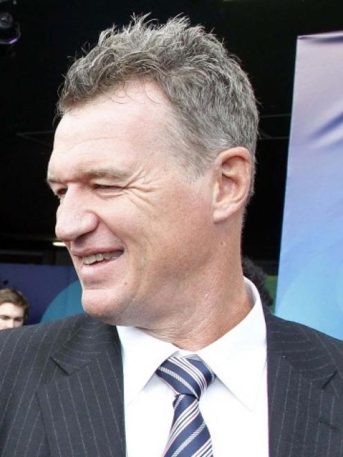 Blues coach John Kirwan. Photo Reuters