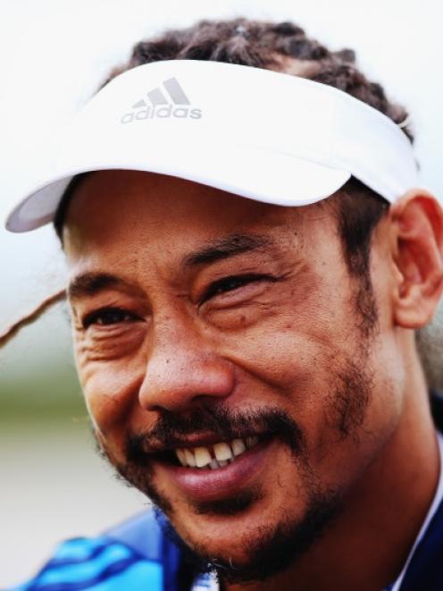 Blues coach Tana Umaga. Photo: Getty Images