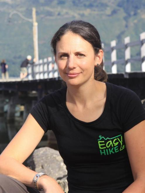 Bobbie Mulgrew, from car relocation business Easyhike. Photo by Stacey Smith.
