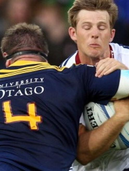 Brad Thorn and the rest of the Highlanders have had the University of Otago on their jerseys this...
