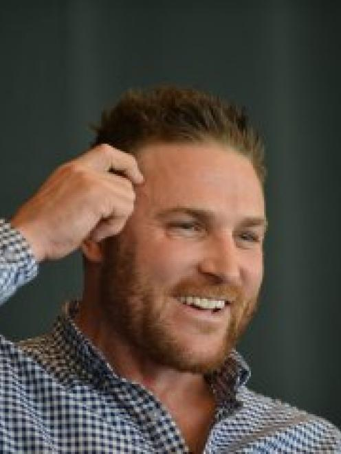 Brendon McCullum. Photo by ODT.