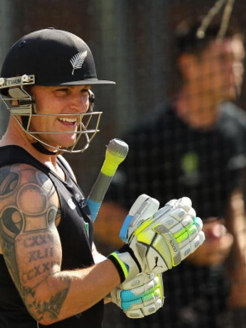 Brendon McCullum. Photo Getty