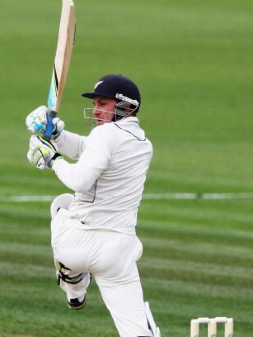 Brendon McCullum's main test batting problem appears to be balancing aggression with patience....