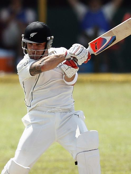 Brendon McCullum says the Black Caps have 'some really exciting talent'. REUTERS/Dinuka Liyanawatte