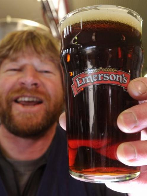 Brewery founder Richard Emerson