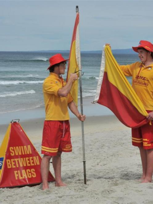 surf life savers resume duties otago daily times online news