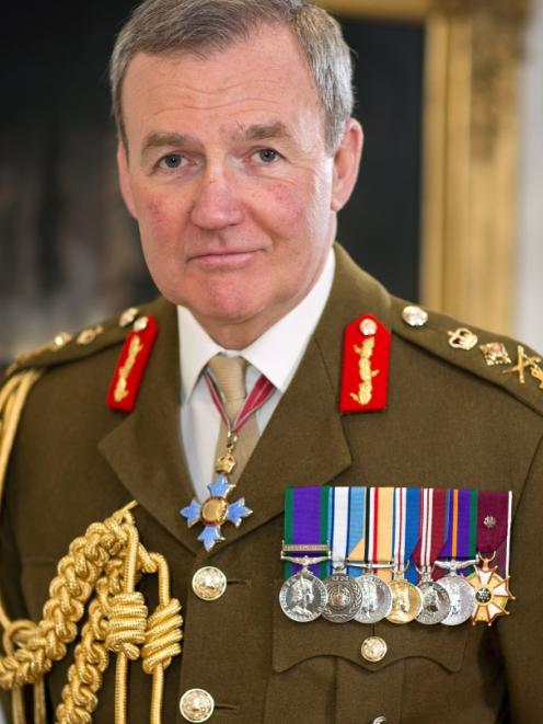 Britain's chief of Defence Staff Sir Nicholas Houghton. Photo supplied.