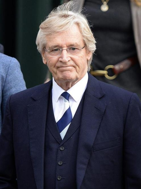 British actor William Roache, who plays the character of Ken Barlow in the soap opera Coronation...