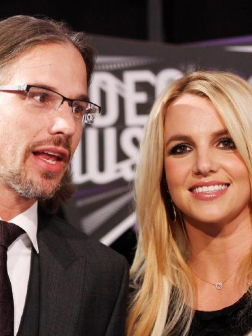 Britney Spears and former fiance Jason Trawick arrive at the 2011 MTV Video Music Awards in Los...