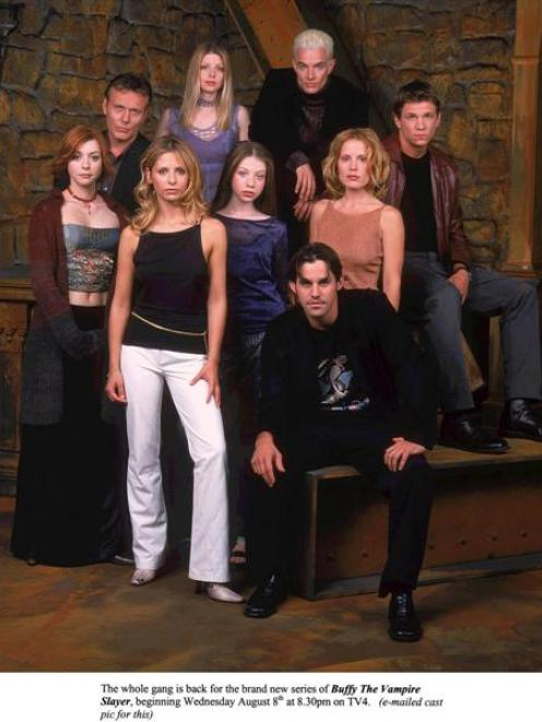 Buffy the Vampire Slayer, an otherwise middling teen vampire comedy that unexpectedly led to a...