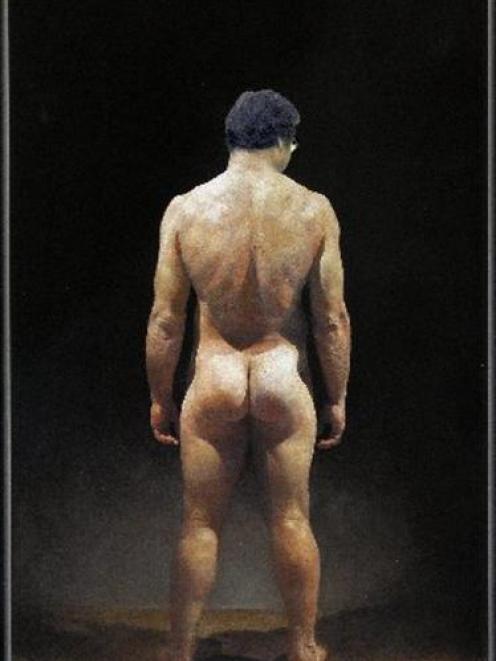 The naked truth? If you merge Simon Richardson's nude painting of Anton Oliver with Dunedin Mayor...