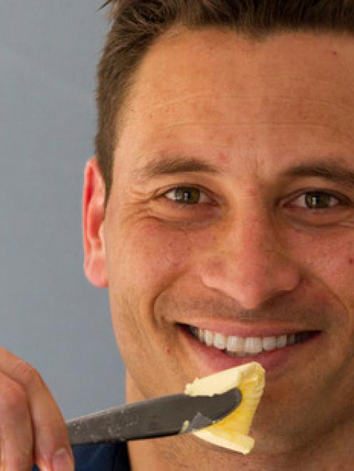 Butter enthusiast Jay Harrison says high-fat, low-carb diets work. Photo by NZ Herald
