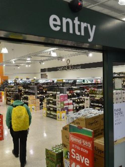 Alcohol would be sold at supermarkets between 9am and 9pm under the council's plan.