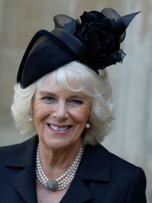Camilla, Duchess of Cornwall. Photo Reuters