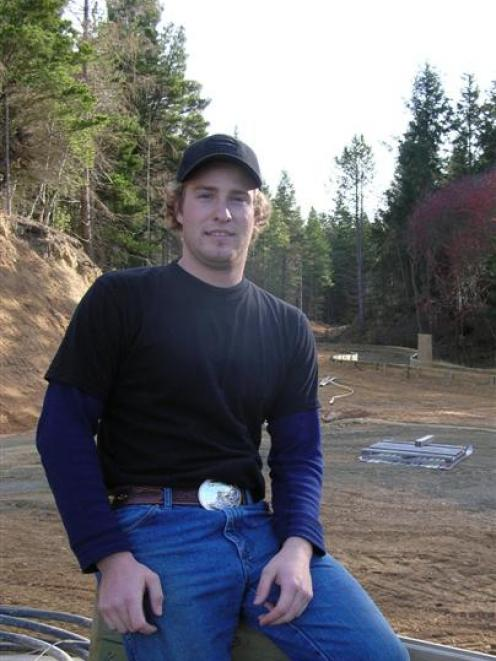 Canadian luger Greg Jones is spending winter in Naseby this year to coach and help out at the...