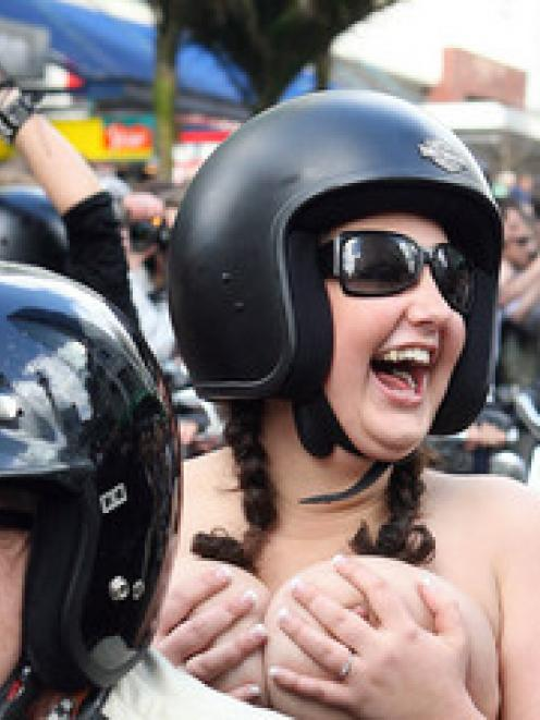 Cancer group rejects Boobs on Bikes offer