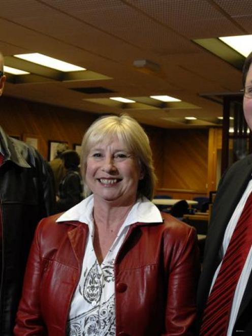 Candidates seeking the Dunedin North Labour Party nomination on Saturday are (from left) David...